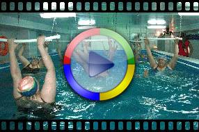 Аквааэробика в нашем бассейне